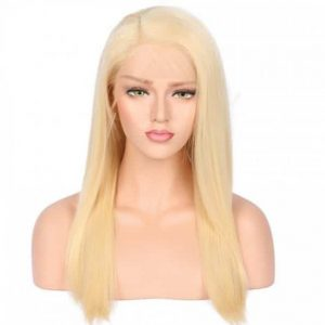 Lace 360 wig blond Straight