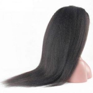 Lace 360 wig kinky straight