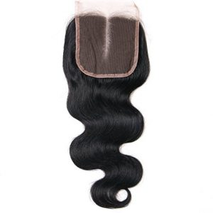 Lace closure body waves