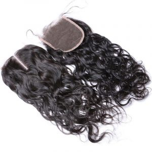 Lace closure natural wave