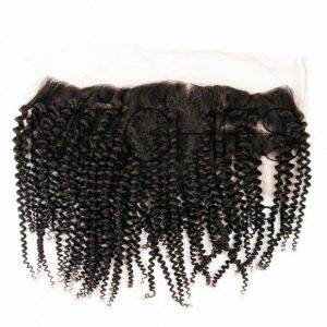 Lace frontale kinky curly