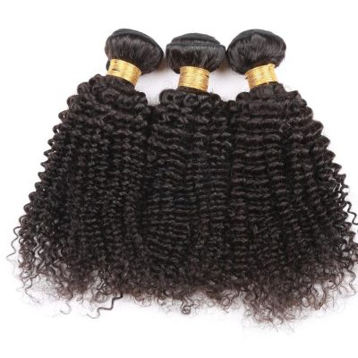 Lot de 3 tissages – Tissage Peruvien Remy Kinky Curly