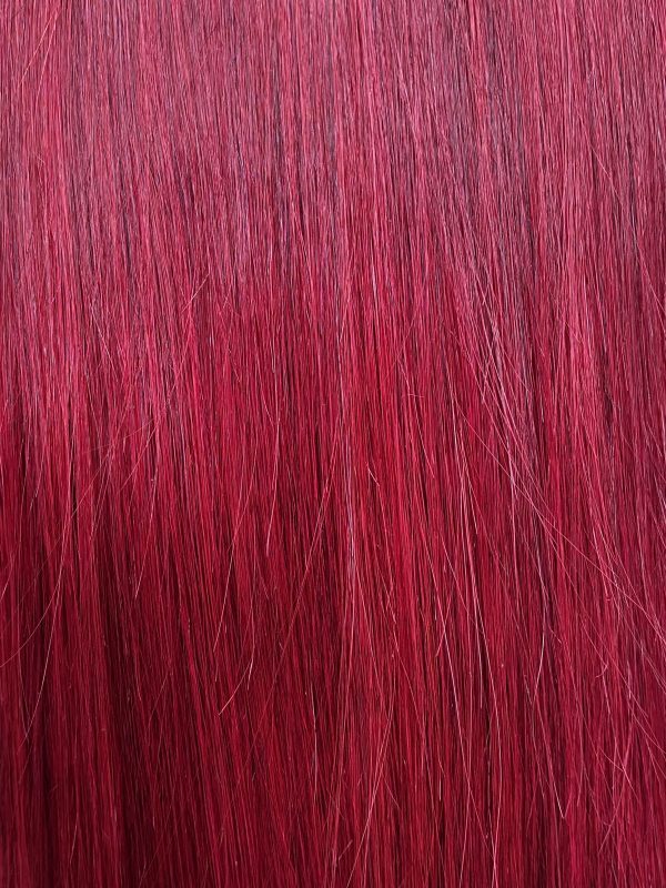 Kelly - Perruque Lace Frontal Lisse Rouge
